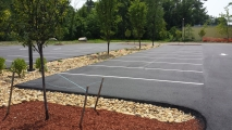 <h5>Professional Parking Lot Line Striping</h5>
