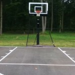 basketball court line striping